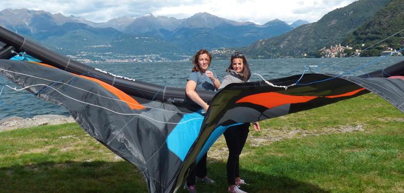 kitesurf Lago di como