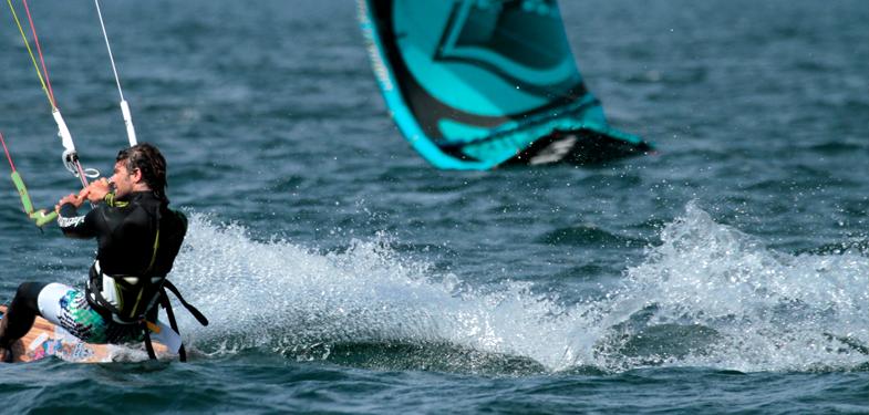 kitesurf am Comersee