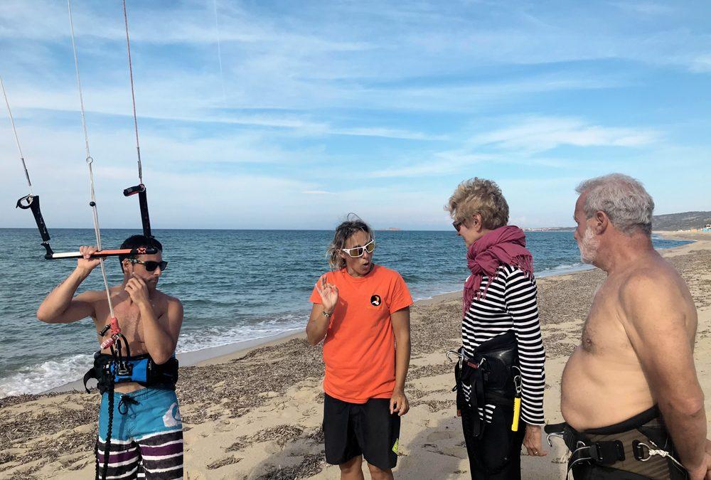 Sind die Wassersportarten für alle geeignet? Kitesurf: Es sind keine besonderen physikalischen Bedingungen erforderlich