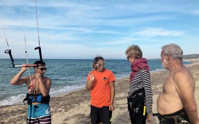 Gli sport d'acqua sono a portata di tutti? Kitesurfing: non sono necessarie condizioni fisiche particolari