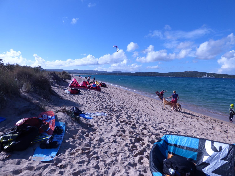 corsi kitesurf badesi - sardegna