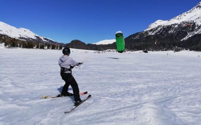 Snowkiting: how long does it take to learn this sport? Is it an extreme sport?